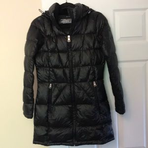 Andrew Marc black down puffer jacket
